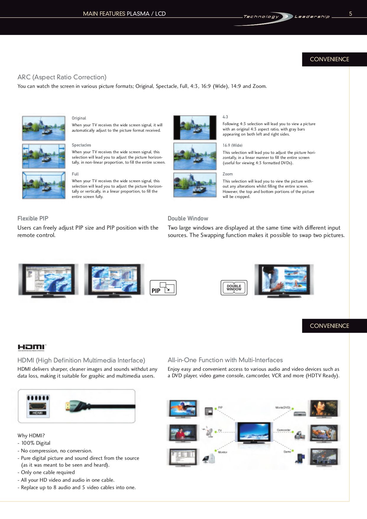 PDF manual for LG TV 23LC1R